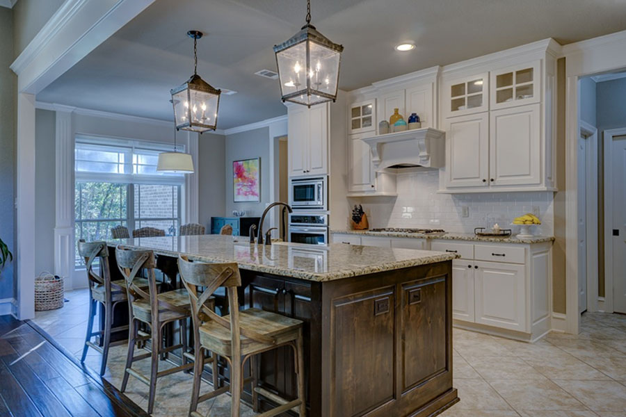 Selecting Kitchen Ceiling Lights: Four Types of Kitchen Lighting